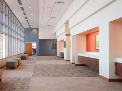commercial atrium paint